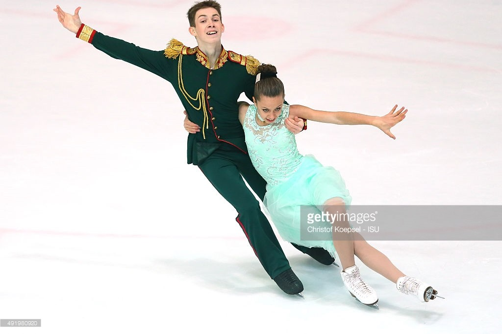 Darya Popova and Volodymyr Nakisko
