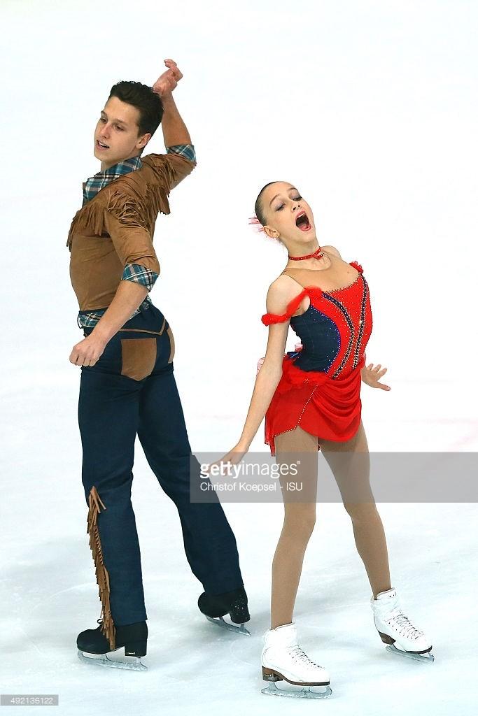 Emilia Kalehanava and Uladzislau Palkhouski